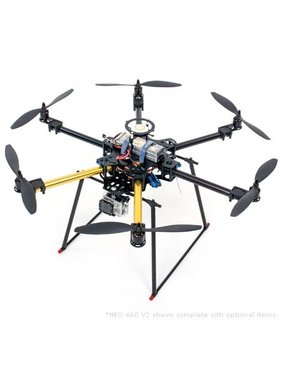 CENTURY HELI CENTURY UAV NEO 660 V2 HEXACOPTER MULTI-ROTOR BASE KIT<br />