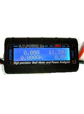 G.T. POWER RC GT POWER 130A HIGH PRECISION WATT METER AND POWER ANALYZER