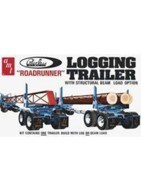 AMT AMT LOGGING TRAILER ''ROAD RUNNER'' WITH STRUCTURAL BEAM LOAD OPTION