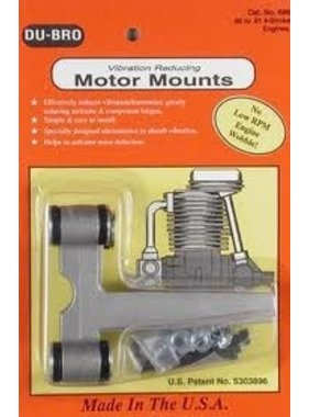 DUBRO DUBRO MOTOR MOUNT FOR 80 TO 91 4-STROKE ENGINE  686