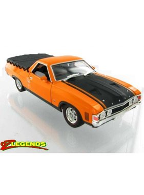 OZ LEGENDS OZ LEGENDS FORD XA FALCON UTE GT REPLICA YELLOW FIRE 1/32