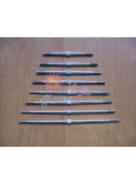 HY MODEL ACCESSORIES HY TIGHT ADJUSTABLE ROD M3 X L140<br />( OLD CODE HY160908 )