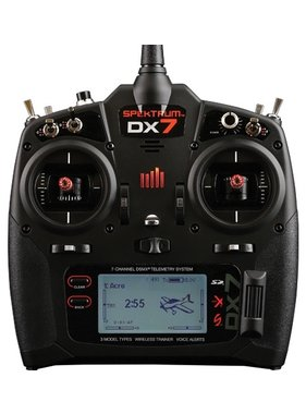 SPEKTRUM SPEKTRUM DX7 TX ONLY TALKING TELEMTRY SYSTEM MODE 2 INCLUDES BATTERY AND MAINS CHARGER