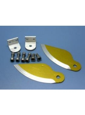 HY MODEL ACCESSORIES HY ALUMINIUM WATER KNIFE BOAT STABILIZERS 90 CLASS - 26CC <br />( OLD CODE HY380601 )