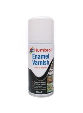 HUMBROL HUMBROL ENAMEL VARNISH MATT SPRAY CAN 150ML