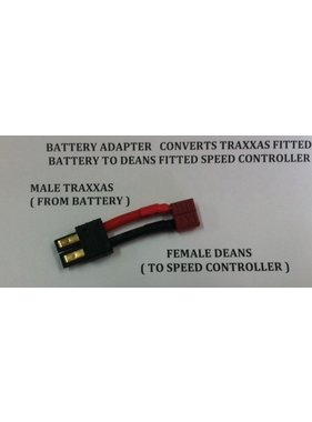 ACE IMPORTS ACE ADAPTER TRAXXAS BATTERY TO DEANS DEVICE