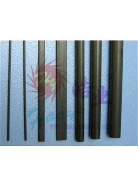 HY MODEL ACCESSORIES HY CARBON ROD 1mt x 2mm<br />