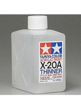 TAMIYA TAMIYA X-20A ACRYLIC THINNERS 250ML  81040