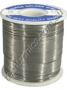 WES COMPONENTS 1.0MM SOLDER 200GR ROLL 60/40  ( CONTAINS LEAD )