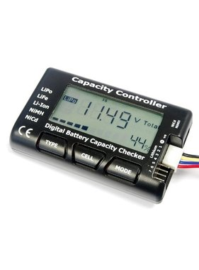 ACE IMPORTS IMAX CELLMETER DIGITAL BATTERY CAPACITY CHECKER FOR 2-7 CELL LIPO,LIFE,NICD AND NIMH