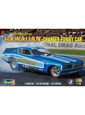 REVELL REVELL HAWAIIAN CHARGER FUNNY CAR ROLAND LEONG 1/16