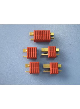 HY MODEL ACCESSORIES HY T PLUG WITH FULL GRIP U/GOLD PLUG M &amp; F ( 4 PAIRS  )<br />(OLD CODE HY210509 )