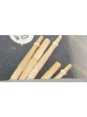 ACE DOLLS HOUSE ACE 1/12 DOLLS HOUSE ACC ASSORTED WOODEN SPINDLES LRG