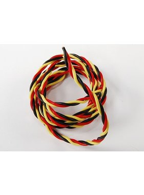 ACE IMPORTS ACE TWISTED SILICONE 22 AWG SERVO WIRE 1MT