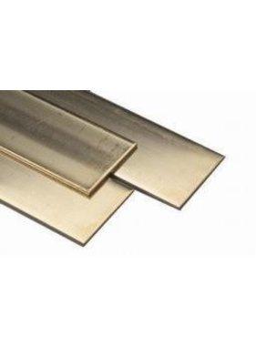 K&S K & S BRASS FLAT STRIP 1.5 X 25 X 1000MM
