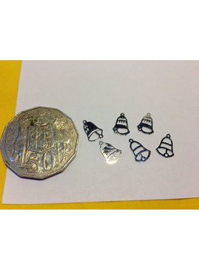 ACE DOLLS HOUSE ACE 1/12 DOLLS HOUSE ACC XMAS STOCK XMAS DECORATIONS SILVER