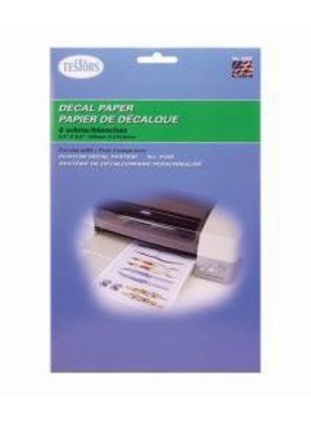 TESTORS TESTERS DECAL PAPER WHITE
