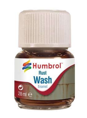 HUMBROL HUMBROL RUST WASH 28ML AV0210