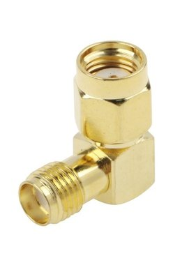 CHINA ELECTRONICS Gold Plated RP-SMA Male to SMA Female Adapter