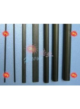 HY MODEL ACCESSORIES HY CARBON TUBE 1mt x 4x2.5mm<br />( OLD CODE HY150111 )
