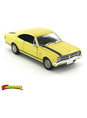 OZ LEGENDS OZ LEGENDS HOLDEN HK MONARO GTS PICARDY RED, WARWICK YELLOW 1/32
