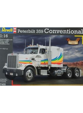 REVELL REVELL PETERBILT 359 CONVENTIONAL 1/16 07455