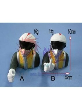 HY MODEL ACCESSORIES HY JET PILOT L45XH50mm 16g THE FINGER