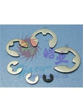 HY MODEL ACCESSORIES HY CIR CLIPS 6mm ( 100 PK )<br />( OLD CODE HY170801F )