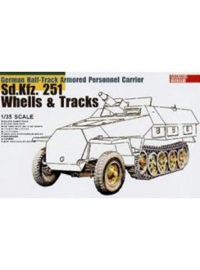 AFV AFV Sd.Kfz 251 TRACK & WHEELS