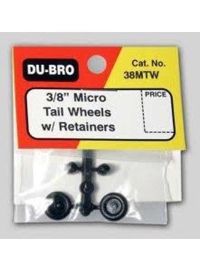 DUBRO DUBRO Micro Tailwheel w/Rtnr 3/8(2) 38MTW