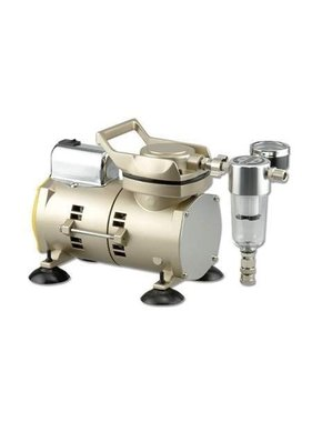 SPARMAX SPARMAX AIR COMPRESSOR  AC-100 HIGH FLOW<br /> MOTOR 1/6 HP AC<br /> AIRFLOW 23 lpm<br /> Weight 3.4kg <br /> <br /> Includes :<br /> Water Trap <br /> Pressure Guage <br /> Adjustable Pressure<br /> Cotton Covered Airhose