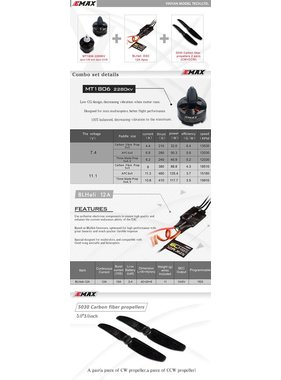 EMAX EMAX Quadcopter 250 Brushless Combo 1