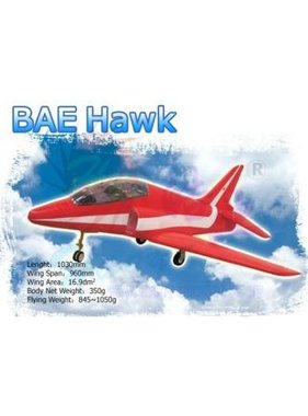 HY MODEL ACCESSORIES HY FOAM BAE HAWK MODEL <br />UNPAINTED WITH 1 X HY03-0601 BRUSHLESS FANS WITH MOTORS<br />( OLD CODE HY280401F )