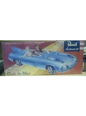 REVELL REVELL PONTIAC CLUB DE MER  AUTHENTIC KIT  1223
