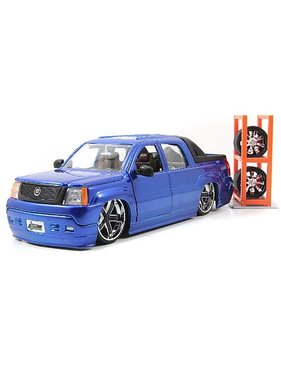 JADA JADA 1/24 2002 CADILLAC ESCALADE EXT WITH EXTRA WHEELS