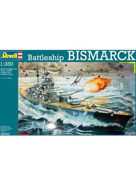 REVELL REVELL BISMARK BATTLESHIP 1/350 05040