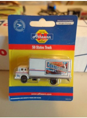 ATHEARN ATHEARN N GAUGE 50 STATES TRUCK USPS DELIVERY VAN CONNECTICUT 10307