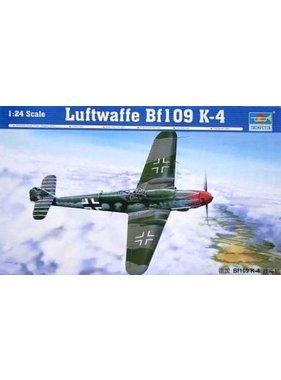 TRUMPETER TRUMPETER LUFTWAFE BF109 K-4 1/24