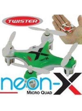 TWISTER TWISTER NEON-X MODE 1 MICRO QUAD RTF MODE 1
