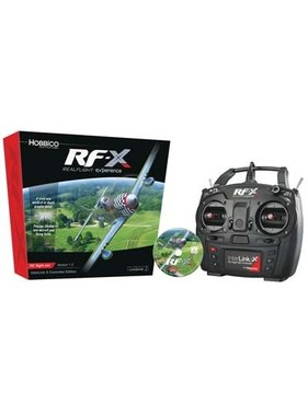 HOBBICO RF-X Software with InterLink-X Controller new in 2017 ( realflight ) ( NO FURTHER DISCOUNT )