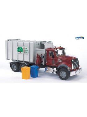 BRUDER Bruder MACK Granite Side-Loading Garbage Truck