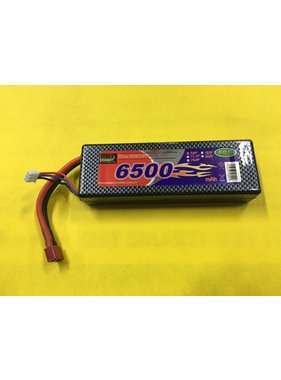 LION POWER - TIGER POWER LIPOS ENRICHPOWER 60C 7.4V HARD CASE 6500MAH READ SAFTY WARNING BEFORE USE 46.2x24.8x138mm 300gr LEADS AT THE END FITTED WITH DEANS PLUG