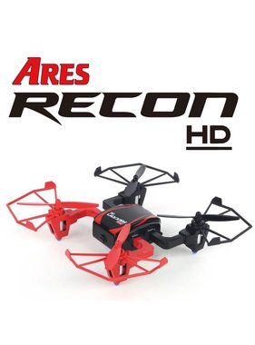 ARES ARES RECON HD MINI QUAD WITH 720HD CAMERA, VIDEO OR PICTURES