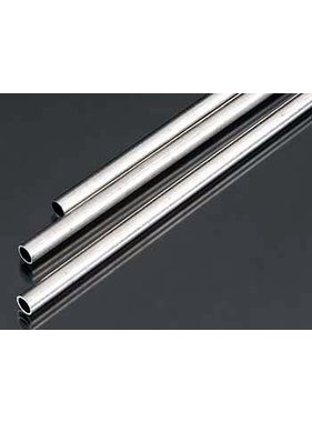 K&S K & S 3PCS METRIC ALU TUBE 5mm X .45mm X 300mm ( 3 PCE )