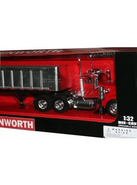 NewRay NEWRAY KENWORTH 1/32 DIECAST W900 FRAMELESS DUMP TRUCK