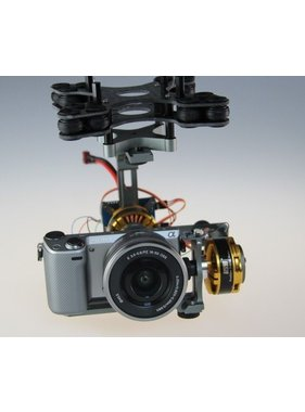 MAYTECH COMPLETE 3 AXIS GIMBAL 42-15 120T FOR CAMERAS 250g_400g<br />