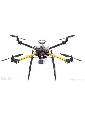 DJI CENTURY UAV NEO 720 KIT (G10) QUAD MULTIROTOR  <br />