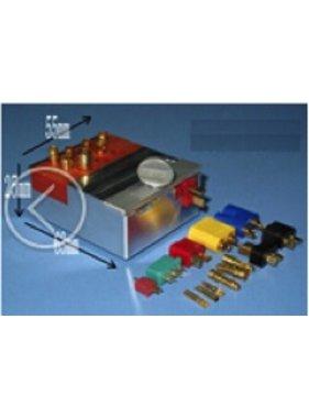 HY MODEL ACCESSORIES Aluminium Soldering Mount for RC connectors/Clamp 63×55×25mmuse for soldering:T plug/XT60/MPX connector/EC Plug/T/XT60/MPX/EC3+5/TRX