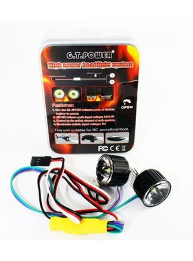 ACE RADIO CONTROLLED MODELS ACE HIGH POWER HEADLIGHT LANDING LIGHT SYSTEM