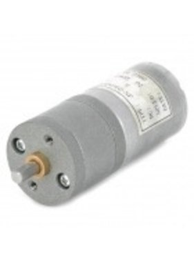 ACE RADIO CONTROLLED MODELS 25mm Diameter 12V High Torque100rpm 370 Precision Gear Motor - Silver